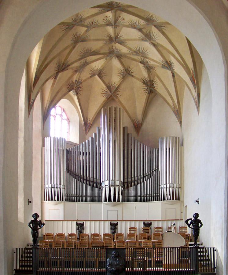 Westchor mit Orgel - Foto: Joeb07
