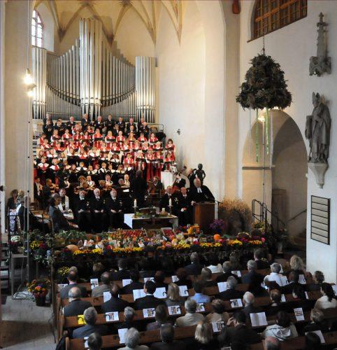 Erntedankgottesdienst 2011 - Foto: LVZ/Röse