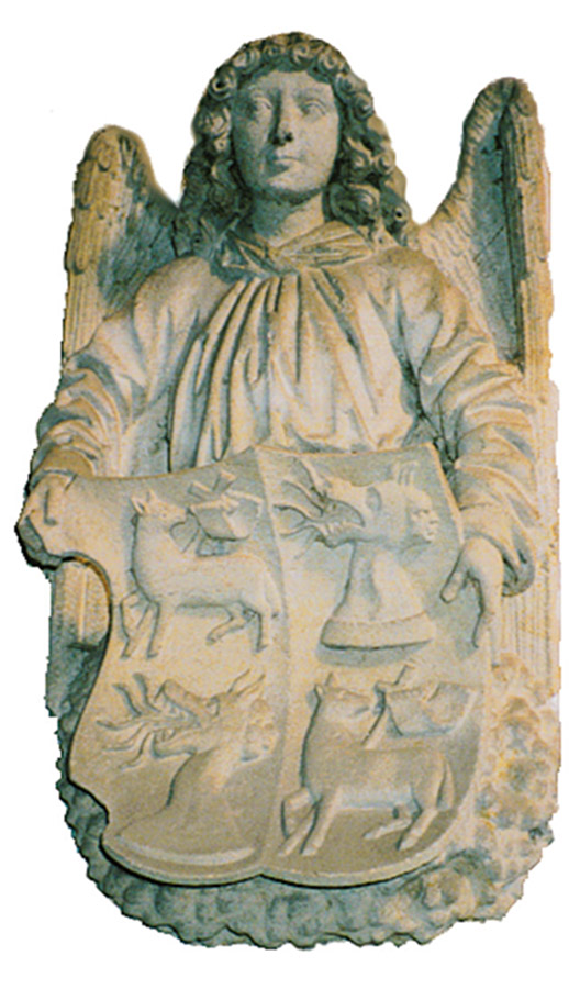 Wappen Bischof Johann VI. von Saalhausen